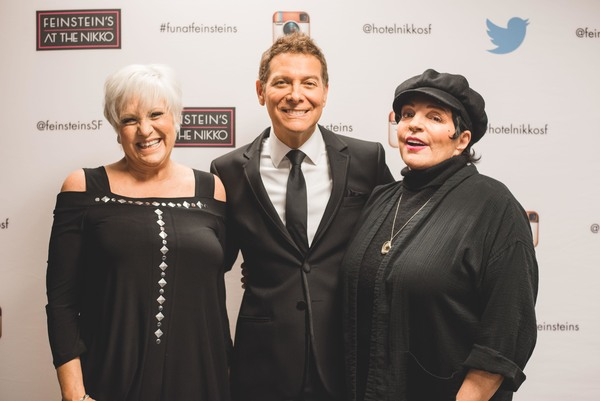 Lorna Luft, Michael Feinstein and Liza Minnelli